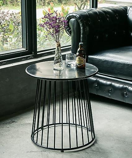 table basse table de salon Table ronde en ardoise Table en ...