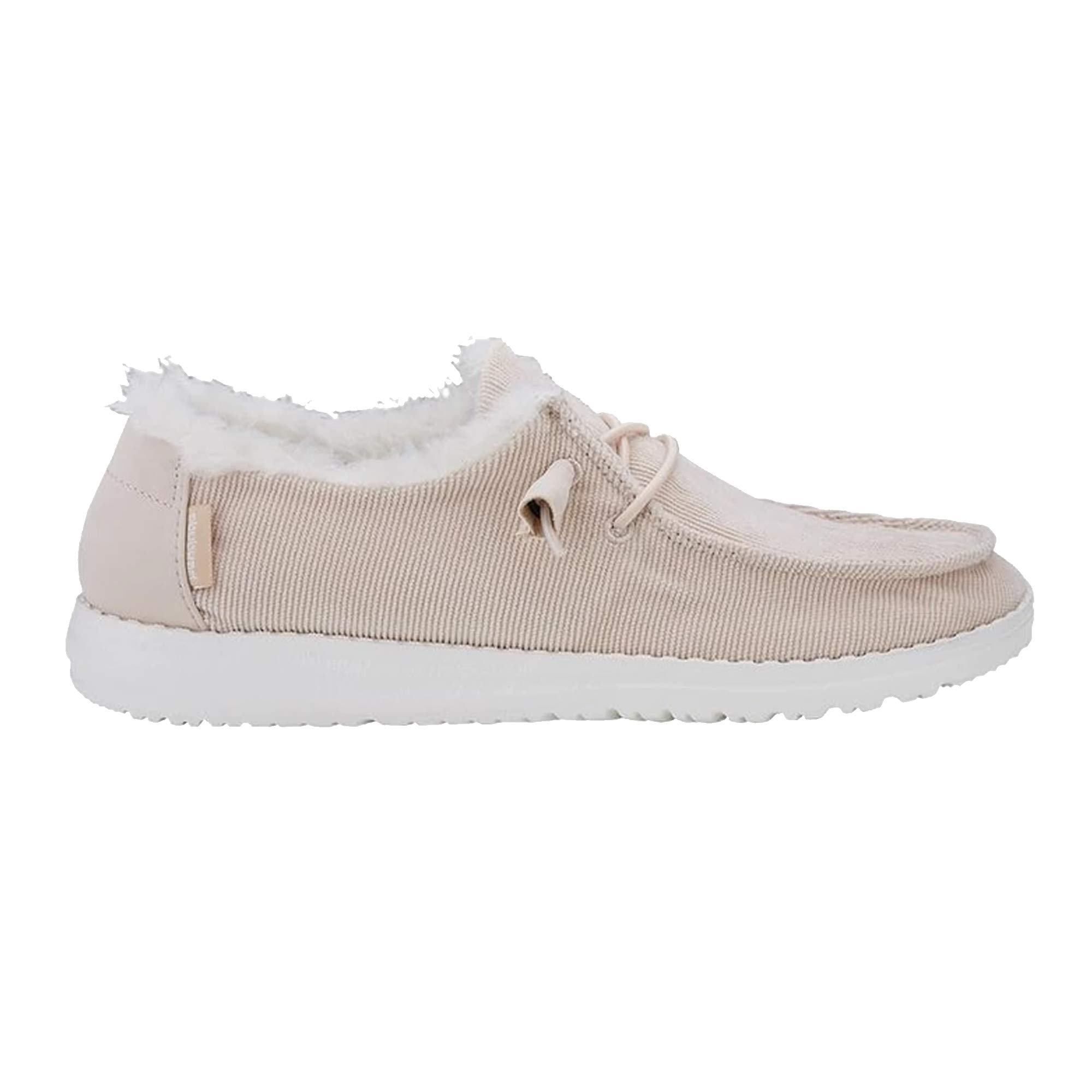 Hey Dude Shoes Women's Wendy Corduroy Shoes (5, Cream) Pink by Hey Dude