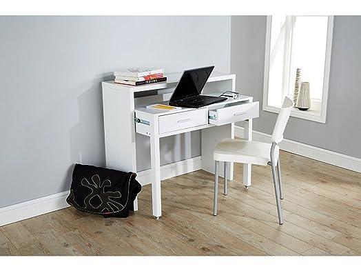 Regis Extending Desk / Console Table   White