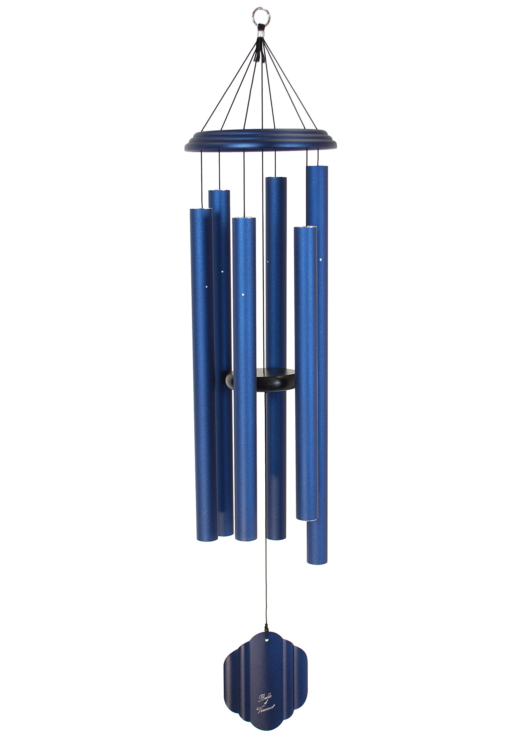 Bells of Vienna 50-inch Windchime, Midnight Blue
