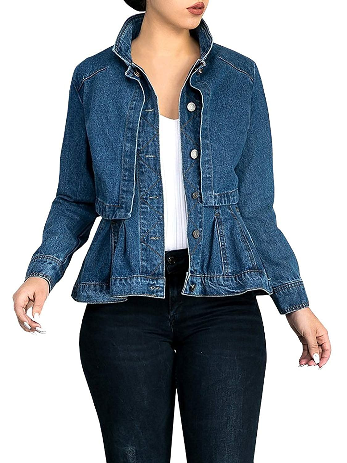 3a89a1f0fd0 Top 10 wholesale Washed Denim Shirt Womens - Chinabrands.com