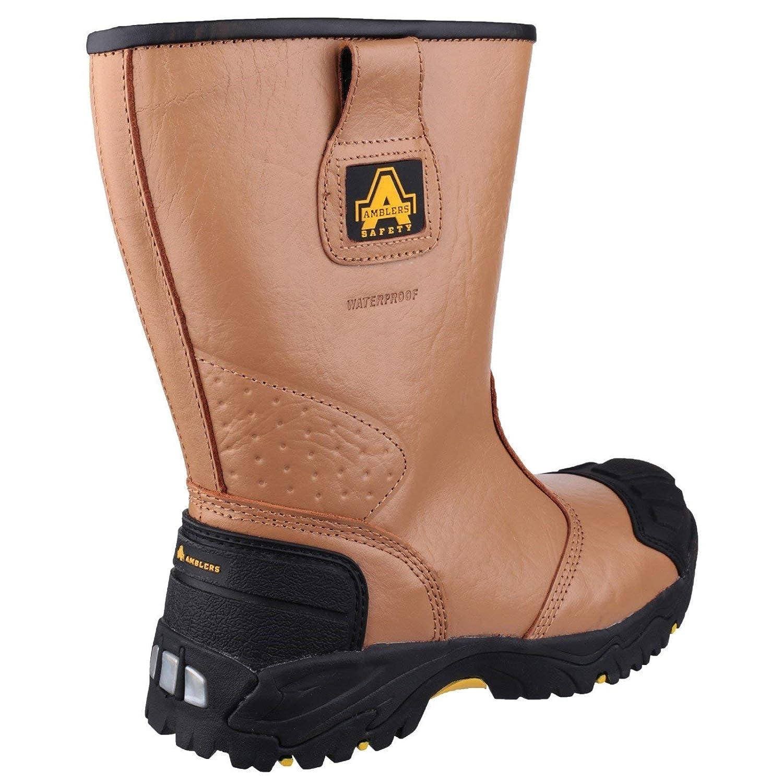 buy cheap newest collection look good shoes sale De Cuir Safety En Fs143 Bottes Gréeur Hommes Amblers ...