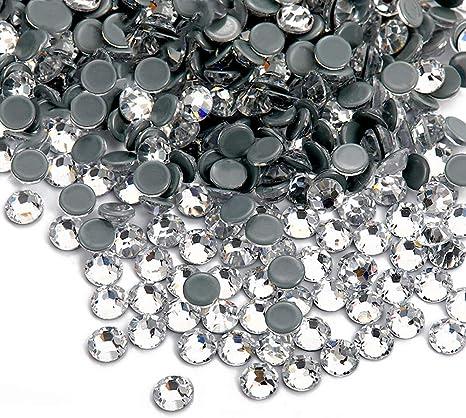 SS3 Facerain Flatback Hotfix Rhinestones Crystal AB Glass Stones SS3-SS40 1440pcs