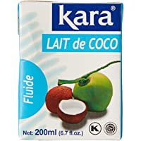 Kara Lait de Coco la Brique 200 ml - Lot de 5