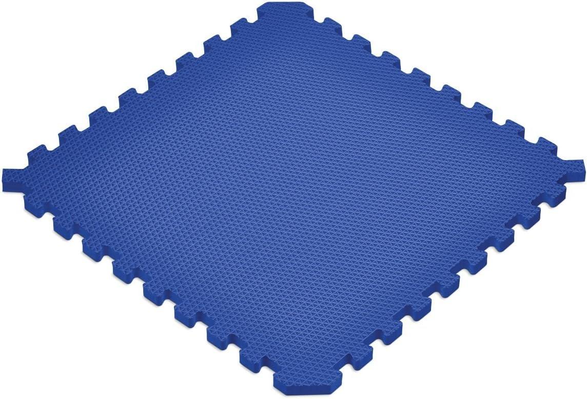 EVA Foam Interlocking Tiles Norsk Solid Blue 3//4 Sport Foam Mats