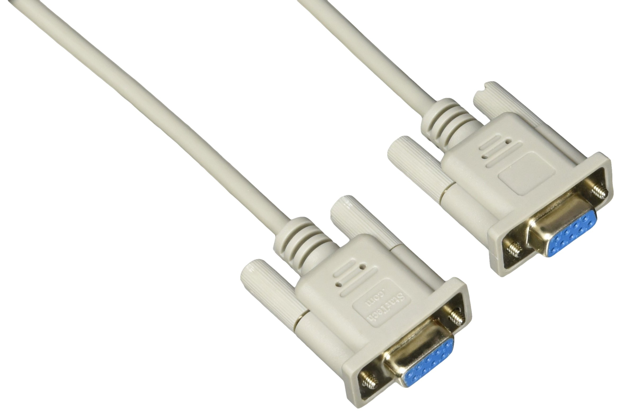 DB9 F//F Startech 6 ft Straight Through Serial Cable