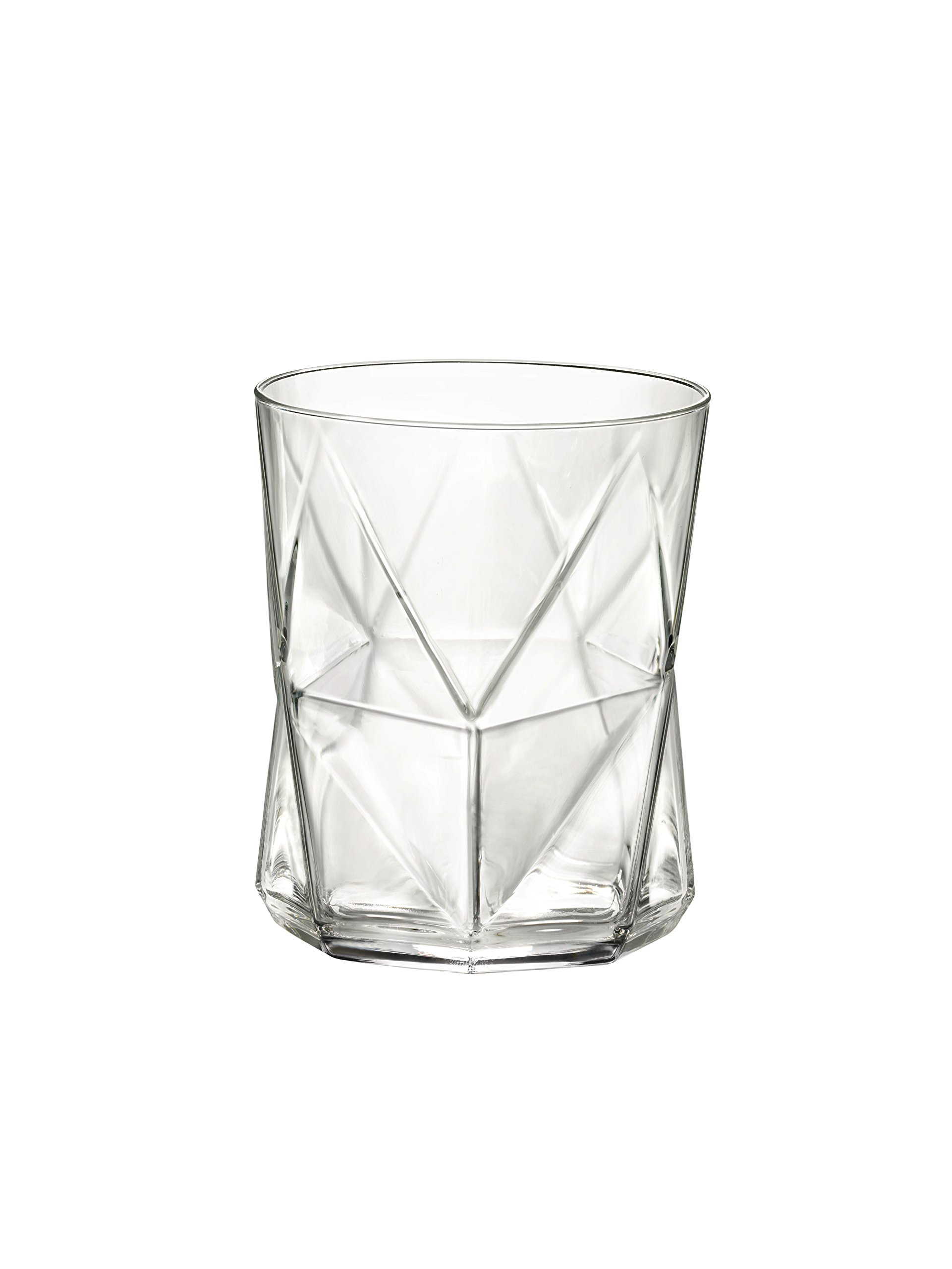 Bormioli Rocco Cassiopea Double Old Fashioned Glass, Set of 4