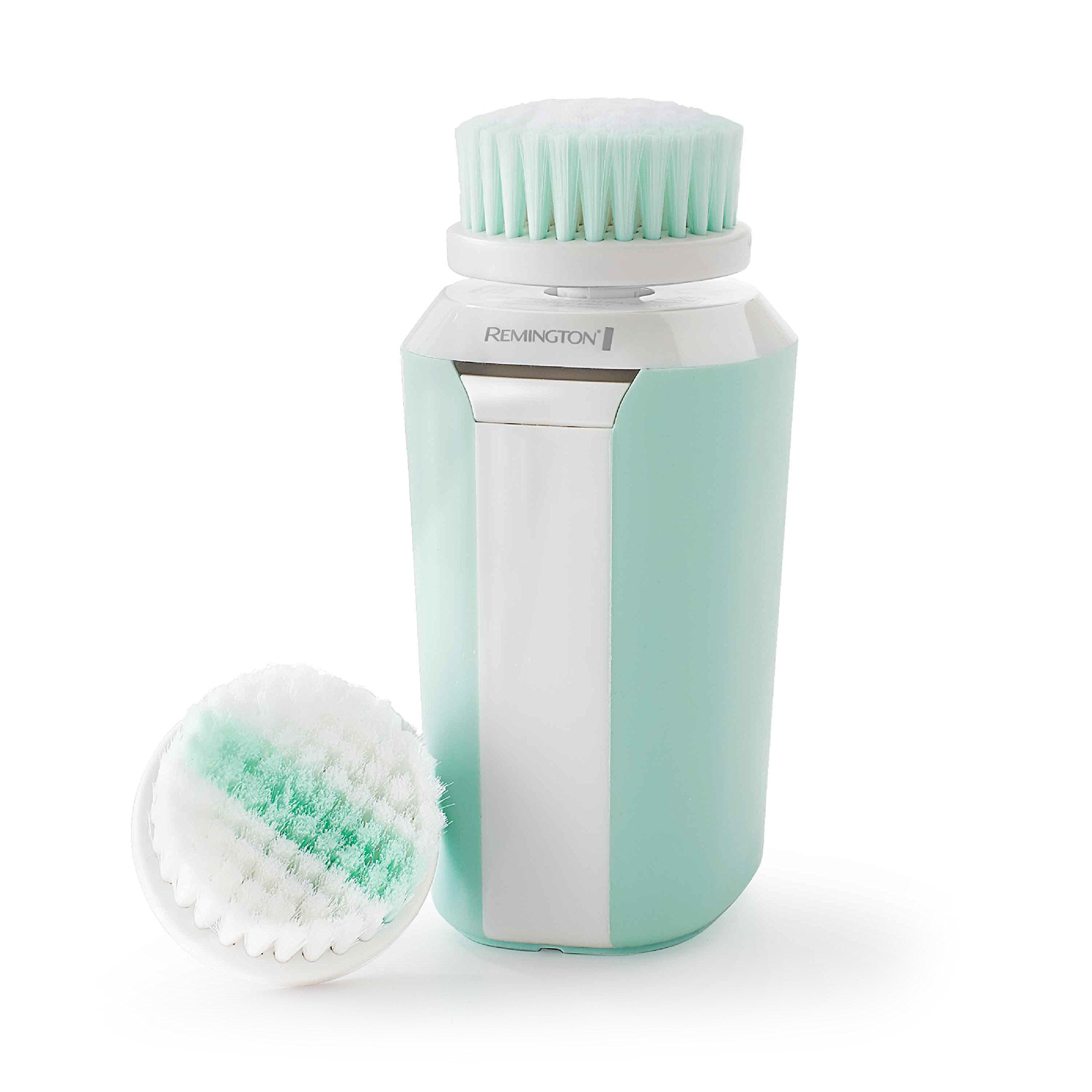Remington Reveal Compact Facial Cleansing Brush with Dual Power Motion & 2 Anti-Microbial Heads (FC500B)