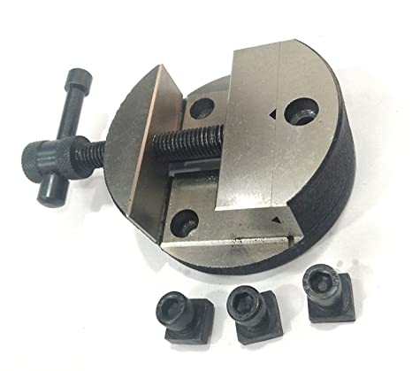 """ROTARY TABLE 4/""""//100 MM WITH 4/""""//100 MM ROTARY VICE// ROUND VICE"""