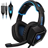 Sades L9 Gaming Headset PS4 Headphones stereo with mic 3.5mm jack for PC Laptop Mac Xbox