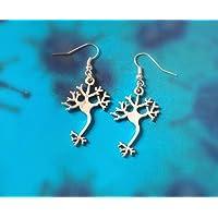 Neuron Earrings – science gift
