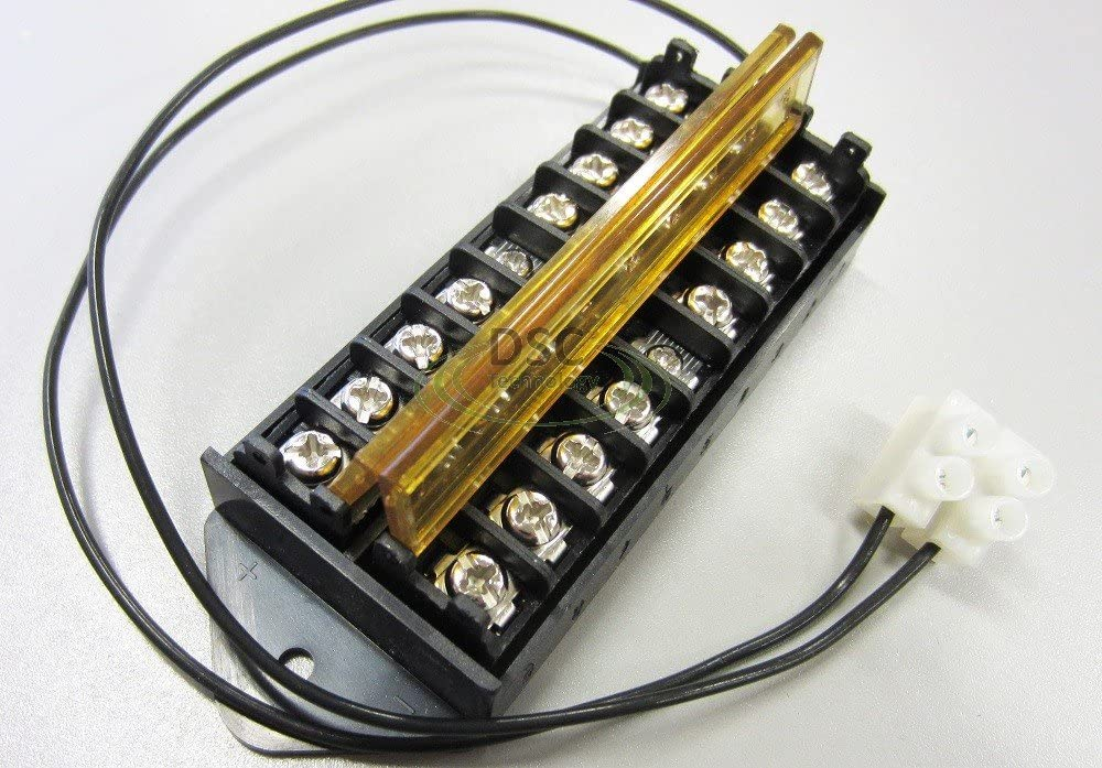 8 Way Terminal Block Bus Bar Splits 1 Input to 8 Outputs Fast Shipping