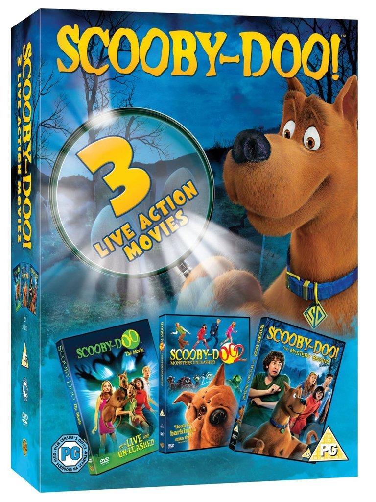 Amazon Com Scooby Doo 3 Film Live Action 3 Dvd Italian Edition Rowan Atkinson Linda Cardellini Raja Gosnell Movies Tv