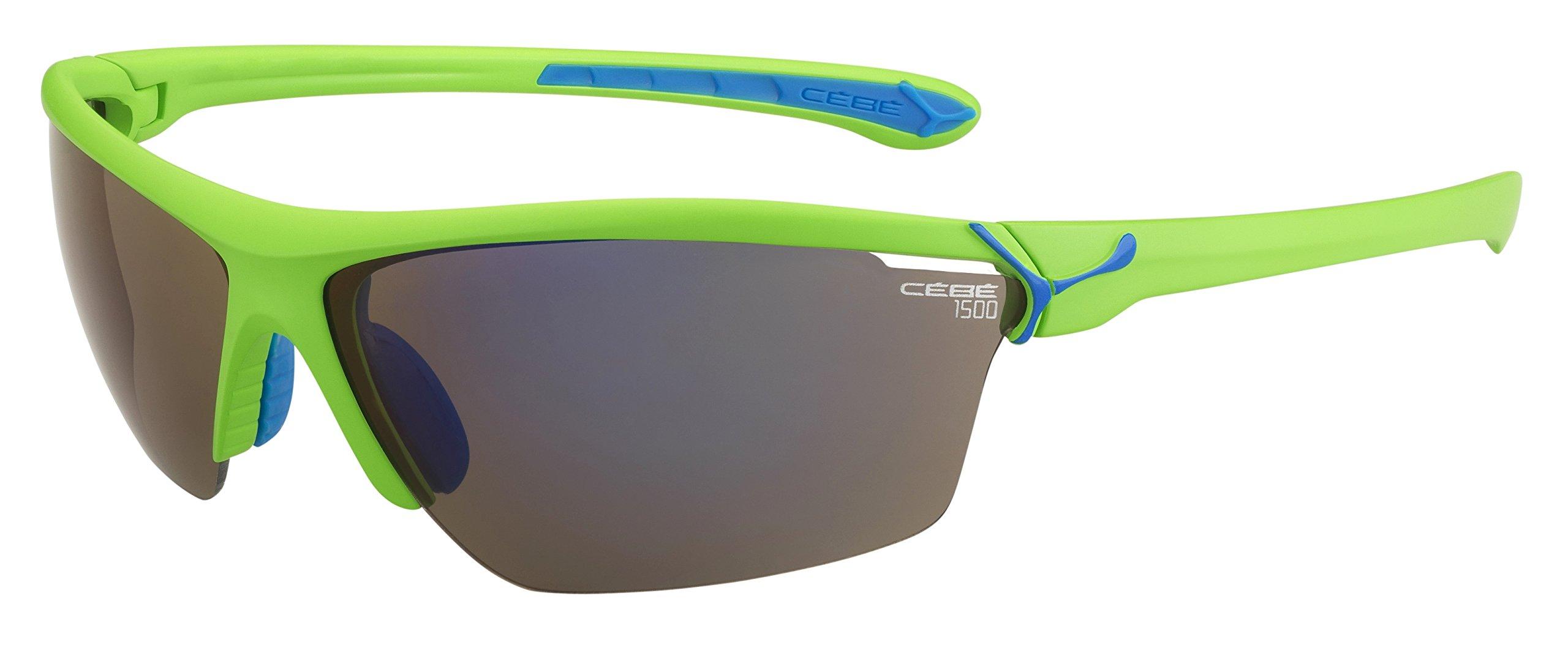 Cébé Cinetik - Gafas de Sol Deportivas, Color Verde Mate product image