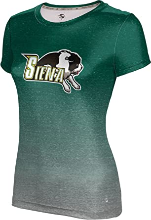 17b03f1a ProSphere Siena College Women's T-Shirt - Ombre at Amazon Women's ...