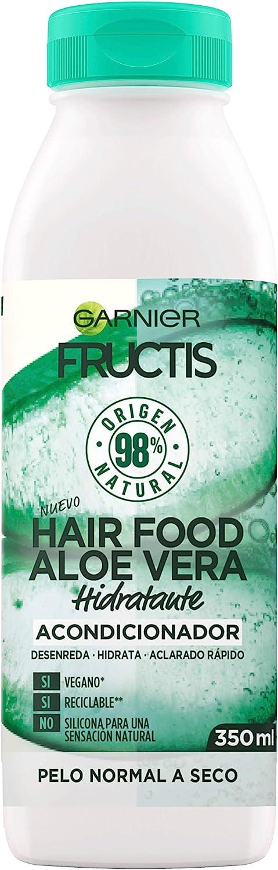 GARNIER Fructis Hair Food Acondicionador de Aloe Vera Hidratante ...