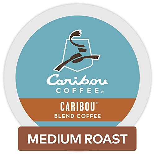 Caribou Coffee Blend Keurig Single-Serve Medium Roast Coffee K-Cup Pods
