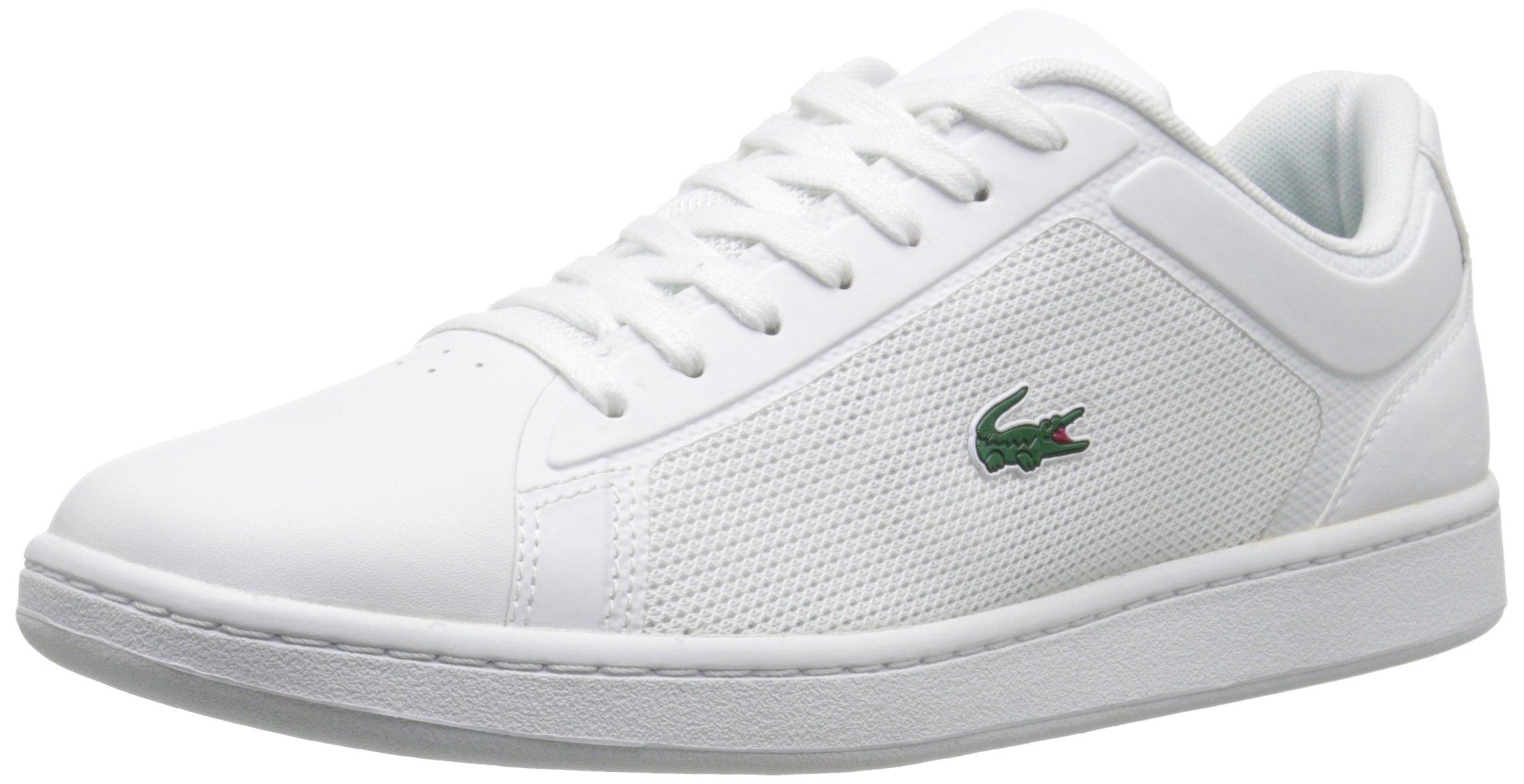 Lacoste Men's Endliner 116 2 Fashion Sneaker, White, 10 M US