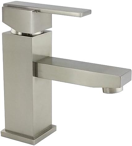 Wellington 8202 Bn Bathroom Sink Faucet Single Handle Single Hole