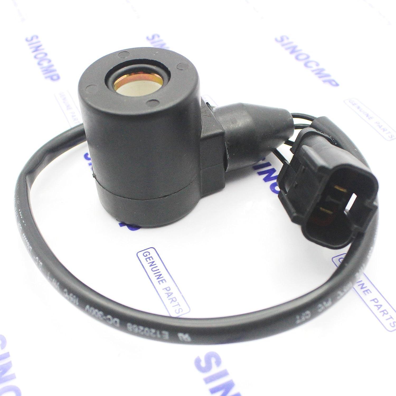 /62161/elettrovalvola bobina/ /60/ 203/ /60/ /Sinocmp Solenoide bobina altezza 48/mm Dimeter da 16/mm per Komatsu PC120//&ndash /203/ /62171/
