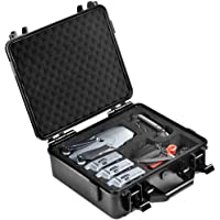 Lekufee Carrying Case for DJI Mavic Pro Platinum,Mavic Pro Hard Waterproof Case Can Hold 4 Batteries,Remote Controller and More Accessories(Not Fit for Mavic 2 Pro)