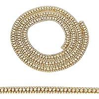 HEEPDD Cadena de Diamantes de imitación de 35.4