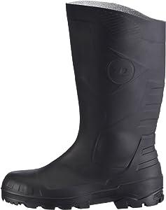 Dunlop S5 H142011 color Negro Botas de seguridad con punta y entresuela de acero para hombre talla 42