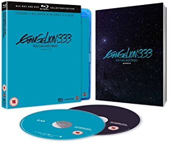 Evangelion 3.33 You Can Not Redo Collectors Edition Combo Pack ...