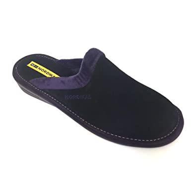 f55e921cac0 Nordikas Natala Mule Slip On Suede Slipper  Amazon.co.uk  Shoes   Bags