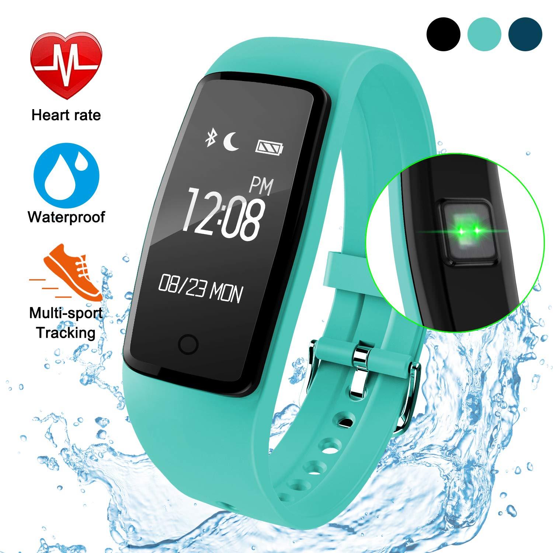 GULAKI Fitness Armband mit Pulsmesser, Wasserdicht Fitness Tracker G30001UK