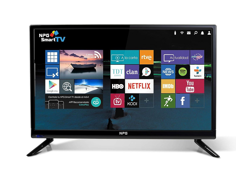 9c6f2ef7667f2 NPG Tvs412l19h Televisor 19   Lcd Led Hd Smart Tv  Amazon.co.uk  Electronics