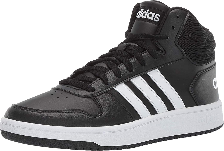 tema Dedos de los pies Mancha  Amazon.com | adidas Originals Men's Vs Hoops Mid 2.0 | Shoes