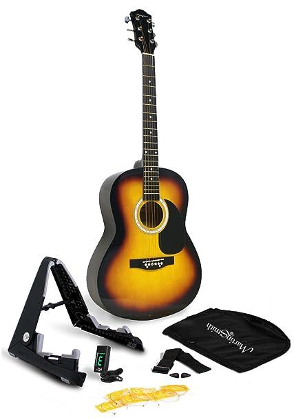 Amazon Com Martin Smith W 101 Sb Pk Acoustic Guitar Super Kit With
