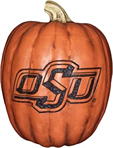 Cumberland Designs Oklahoma State Resin Pumpkin Decor, Large