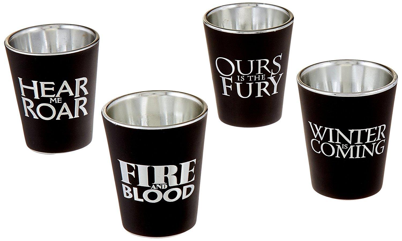 55735c7d0cc0 Game of Thrones House Sigil Shot Glass Set (Set of 4) 699914922982 ...