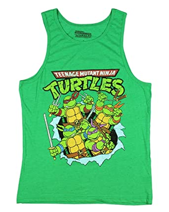 Teenage Mutant Ninja Turtles Graphic Tank Top-Shirt - 2XL