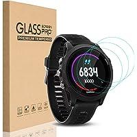 HEYUS [3 Pack] for Garmin Forerunner 935 Screen Protector Glass, 0.3mm Ultra-Thin 9H Hardness Anti-Fingerprint 2.5D…