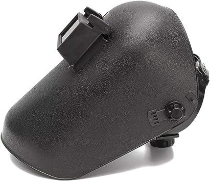 Welding Helmet Electric Welding Argon Arc Head-mounted Mask Black