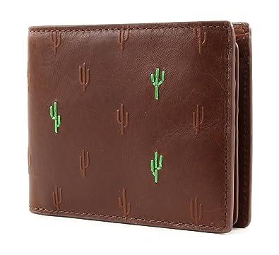 bee7ac5d26794 FOSSIL Herren Geldbeutel Portemonnaie Geldbörse mit RFID-Chip Schutz Braun  6277