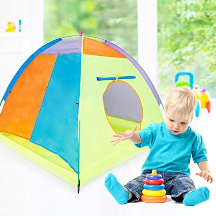 Venustas Kids Tents Indoor Children Play Tent For Toddler Tent For Kids Pop Up Tent Boys Girls Toys Indoor Outdoor Playhouse Camping Playground