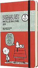 Moleskine 2019 12M edición limitada cacahuetes diario, grande, diario, rojo, tapa dura (5 x 8,25)
