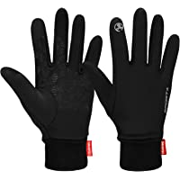 Cevapro Touch Screen Gloves, Winter Warm Gloves Cycling Gloves Lightweight Running Gloves for Hiking Driving Climbing…
