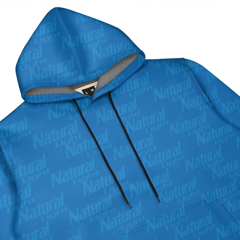 ZTUO Natural-Cool-Light-Beer-Oeiginal Light 3D Printed Mens Hoodies Design Warm Hooded Sweatshirt