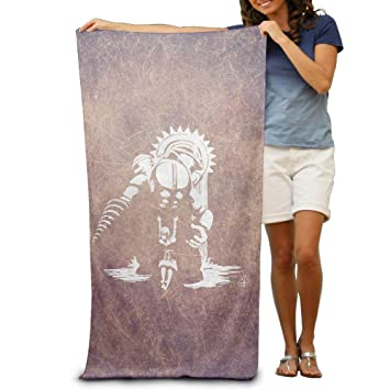 "xcvgcxcvasda Bioshock 2 Big Daddy Little Sister Bath Towels Beach Towel 31""x 51"""