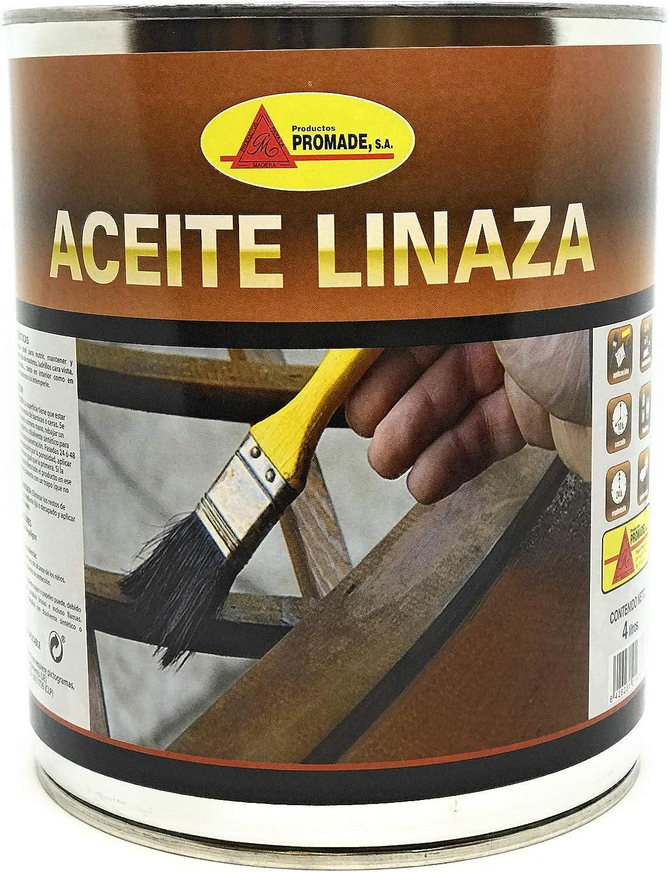 PROMADE - Aceite linaza Cocido con Secantes 750 ml.: Amazon.es ...