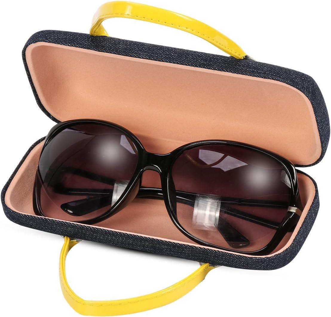 Xidan FM8 Handtasche Stil harte Brillenkasten und Bonus weiche Mikrofaser Linse Reinigungstuch