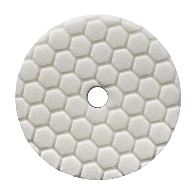 Chemical Guys BUFX114HEX6 Hex-Logic Quantum Light-Medium Polishing Pad, White (6.5 Inch): Automotive
