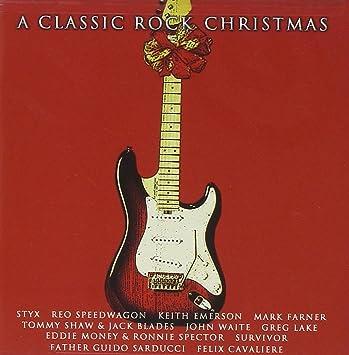 Rock Christmas Music.Various Artists A Classic Rock Christmas Amazon Com Music