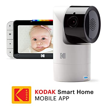 ab8a097949338 KODAK Cherish C525 Video Baby Monitor with Mobile App - 5 quot  HD Screen -  Hi
