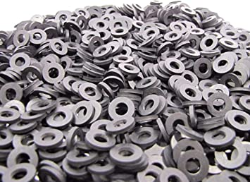 100 Pack 1 1//2 OD x 1 ID x 1//16 Thickness 60 Duro Primal23 Industrial Endeavor Series Neoprene Rubber Washers Rubber Washers
